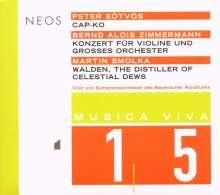 Peter Eötvös (geb. 1944): Cap-Ko für akustisches Klavier,Keyboard & Orchester, CD