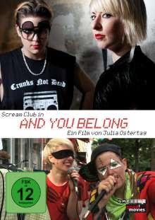 And You Belong (OmU), DVD