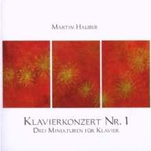 Martin Hauber (geb. 1964): Klavierwerke, CD