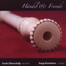 Georg Friedrich Händel (1685-1759): Händel+friends, CD