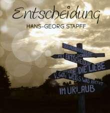 Hans-Georg Stapff: Entscheidung, CD