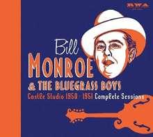 Bill Monroe: Castle Studio 1950 - 1951: Complete Sessions, 5 CDs