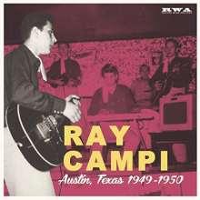 """Ray Campi: Austin,Texas 1949-1950, Single 10"""""""