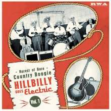 "Hillbilly Goes Electric Vol. 1, Single 10"""