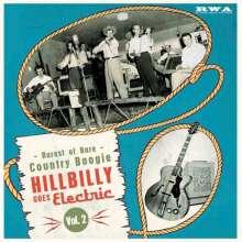 "Hillbilly Goes Electric Vol. 2, Single 10"""