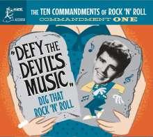 The Ten Commandments Of Rock'n'Roll Vol.1, CD