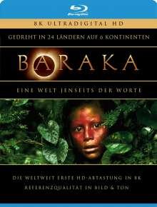 Baraka (Blu-ray 8K Mastered), Blu-ray Disc