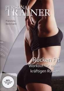 Personal Trainer - Rücken fit (Workout für einen starken R.), DVD