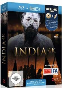 Fascinating India (Blu-ray & UHD Stick), Blu-ray Disc