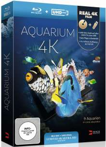 Aquarium (Blu-ray & UHD-Stick), Blu-ray Disc
