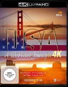 USA - A West Coast Journey (Ultra HD Blu-ray), Ultra HD Blu-ray