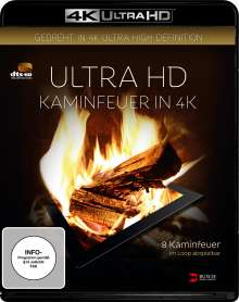 Kaminfeuer in 4K (Ultra HD Blu-ray), Ultra HD Blu-ray