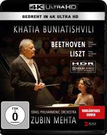Khatia Buniatishvili - Live in Tel Aviv (4K Ultra HD), Ultra HD Blu-ray