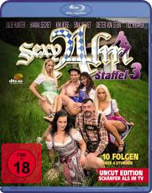 Sexy Alm Staffel 3 (Blu-ray), Blu-ray Disc