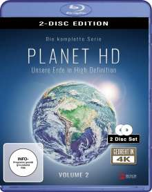 Planet HD - Unsere Erde in High Definition Vol. 2 (Blu-ray), 2 Blu-ray Discs