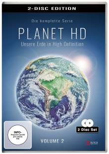 Planet HD - Unsere Erde in High Definition Vol. 2, 2 DVDs