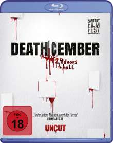 Deathcember - 24 Doors to Hell (Blu-ray), Blu-ray Disc