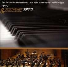 Franz Liszt (1811-1886): Klaviersonate h-moll (Orchesterfassung von Leo Weiner), CD