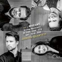 Wolfgang Amadeus Mozart (1756-1791): Streichquartette Nr.2,8,12,14,21,23, 2 CDs
