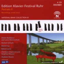 Edition Klavier-Festival Ruhr Vol.15 - Portraits II 2006/2007, 6 CDs