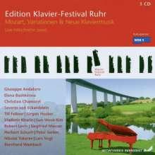 Edition Klavier-Festival Ruhr Vol.14 -  Mozart, Variationen & Neue Klaviermusik 2006, 3 CDs