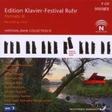 Edition Klavier-Festival Ruhr Vol.19 - Portraits III 2007, 9 CDs