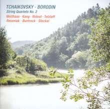 Alexander Borodin (1833-1887): Streichquartett Nr.2, CD