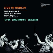 Trio Gaspard - Live in Berlin, 2 CDs