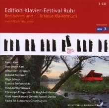 Edition Klavier-Festival Ruhr Vol.17 - Beethoven und ... & Neue Klaviermusik, 3 CDs