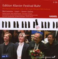 Edition Klavier-Festival Ruhr Vol.18 - Beethoven / Liszt / Saint-Sanes, 2 CDs