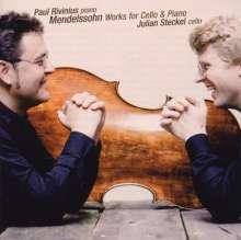 Felix Mendelssohn Bartholdy (1809-1847): Die Werke für Cello & Klavier, CD