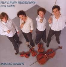 Felix Mendelssohn Bartholdy (1809-1847): Streichquartette Nr.1 & 2, CD