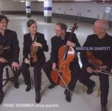 Franz Krommer (1759-1831): Streichquartette d-moll,a-moll,F-Dur, CD