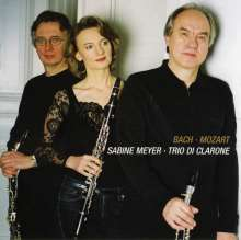 Trio di Clarone - Mozart/Bach, CD