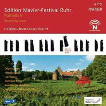 Edition Klavier-Festival Ruhr Vol.25 - Portraits V 2009, 6 CDs