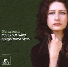 Georg Friedrich Händel (1685-1759): Cembalosuiten (1720) Nr.2-6, CD