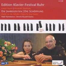 Edition Klavier-Festival Ruhr Vol.24 - Die Jahreszeiten / Die Schöpfung, 4 CDs