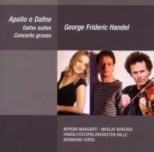 Georg Friedrich Händel (1685-1759): Apollo & Daphne-Kantate HWV 122, CD