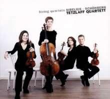 "Jean Sibelius (1865-1957): Streichquartett op.56 ""Voces intimae"", CD"