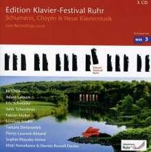 Edition Klavier-Festival Ruhr Vol.26 - Schumann, Chopin & Neue Klaviermusik, 3 CDs
