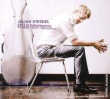 Julian Steckel spielt Cellokonzerte, CD