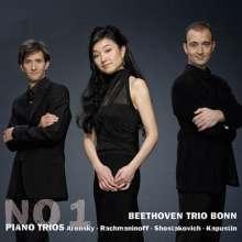 Beethoven Trio Bonn - No.1 Trios, CD