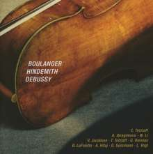 Spannungen Chamber Music Festival 2012 - Boulanger / Hindemith / Debussy, CD