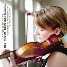 Antje Weithaas spielt Violinkonzerte, CD