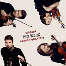 Wolfgang Amadeus Mozart (1756-1791): Streichquartette Nr.9,18,22, CD