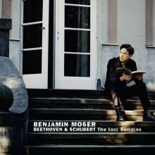 Benjamin Moser - The Last Sonatas, CD