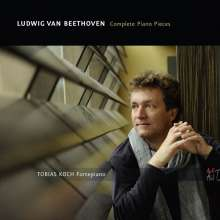 Ludwig van Beethoven (1770-1827): Klavierstücke (auf 5 historischen Instrumenten), 3 CDs