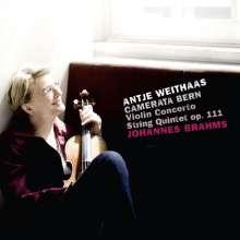 Johannes Brahms (1833-1897): Violinkonzert op.77, CD