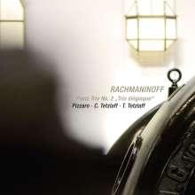 """Sergej Rachmaninoff (1873-1943): Klaviertrio Nr.2 op.9 """"Elegiaque"""", CD"""