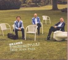 Johannes Brahms (1833-1897): Streichsextette Nr.1 & 2 für Klaviertrio, CD